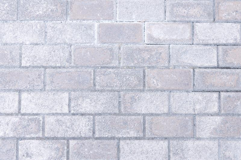 Gray brick wall background royalty free stock photography