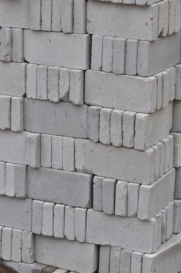 Download Gray Bricks For Construction Stock Images - Image: 22713874