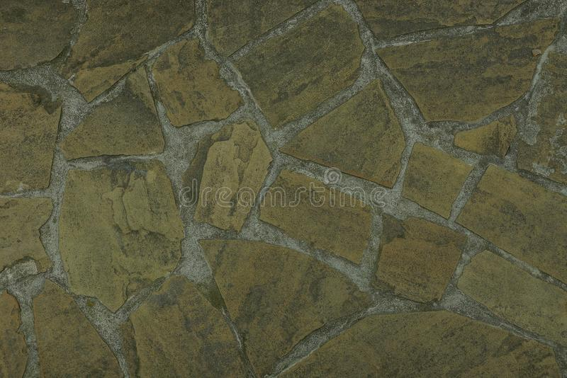 Gray brown texture of a stone wall royalty free stock images
