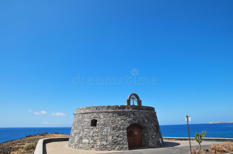 Download Gray Bunker on a Blue Sky stock image. Image of history - 34237325
