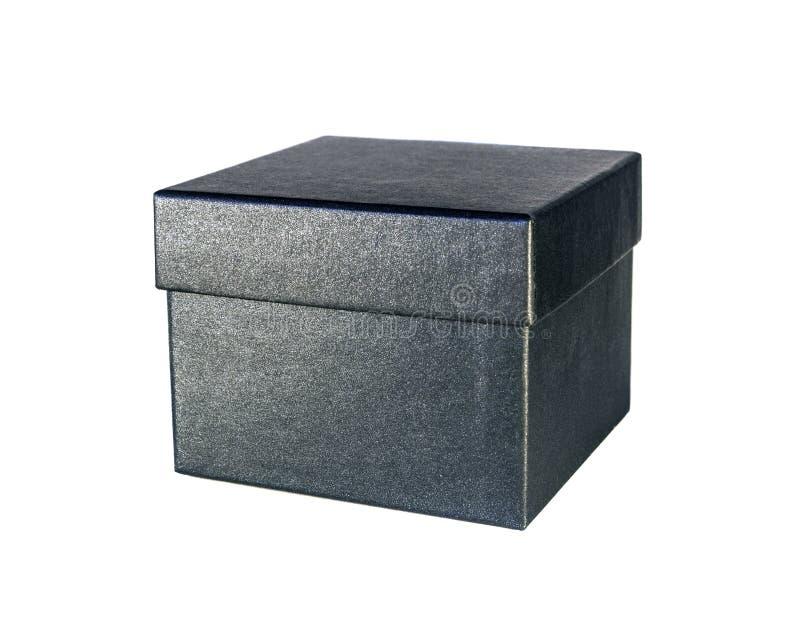 Gray cardboard box stock images