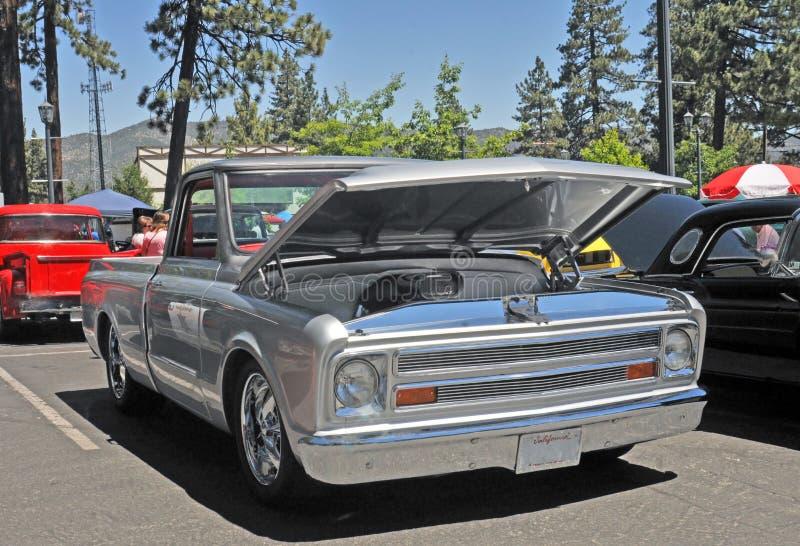 Gray Chevrolet Truck stock foto's