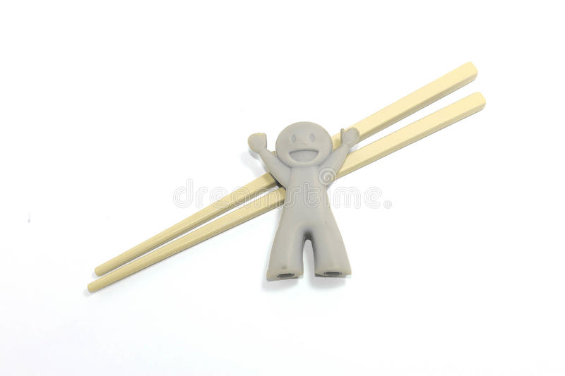 Gray Chop Sticks Set images stock