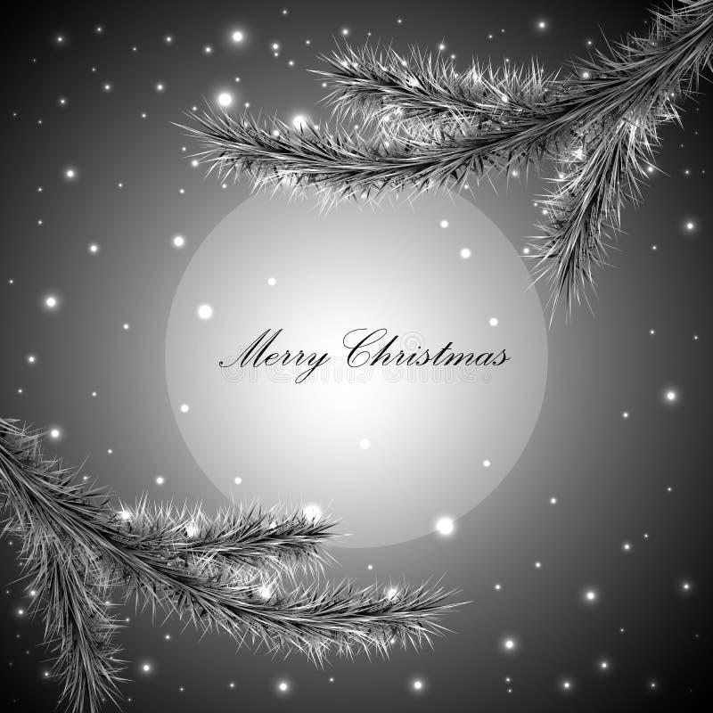 Gray Christmas background royalty free stock photo