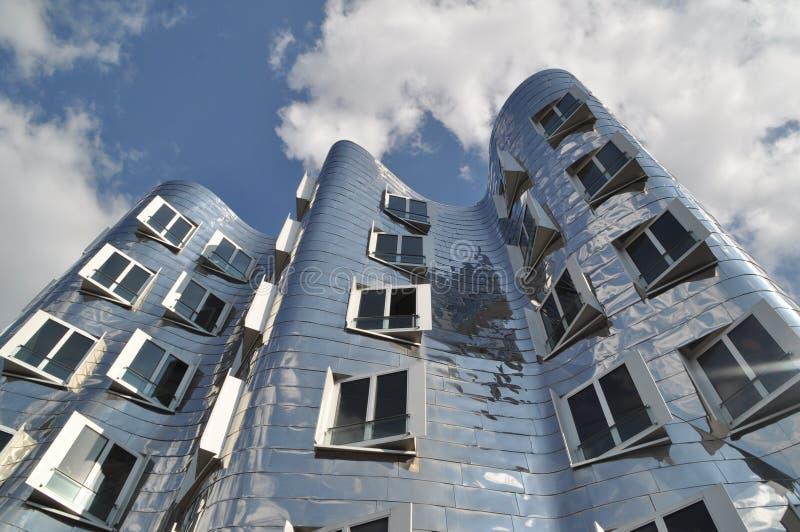 Gray City Building stock image