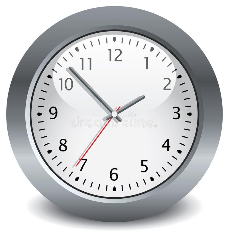 Download Gray Clock Royalty Free Stock Photo - Image: 14498095