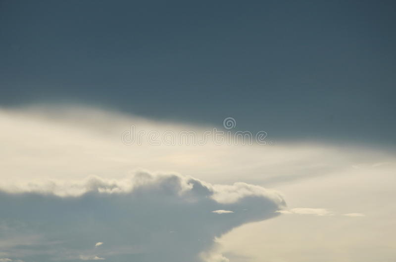 gray cloud on sky in evening royalty free stock images