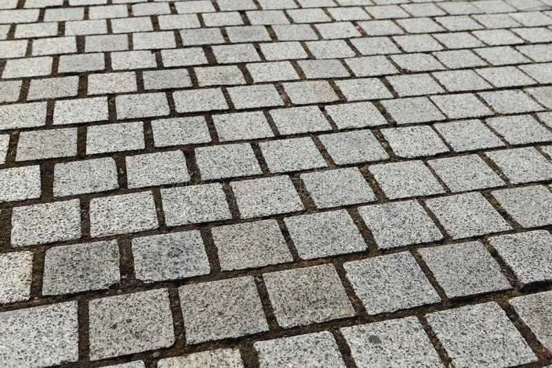 Gray cobbles textured background royalty free stock images
