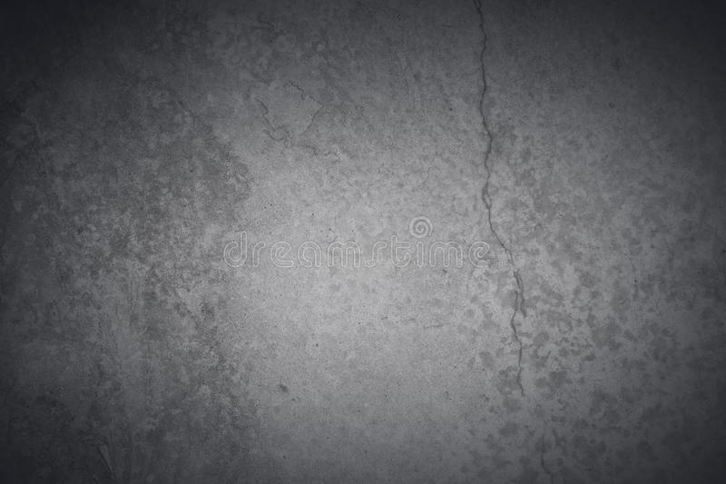 Gray Concrete Background oscuro fotos de archivo