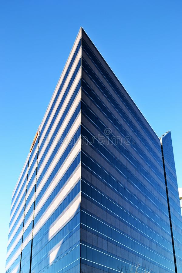 Gray Concrete Building Under Blue Sky royalty free stock photo