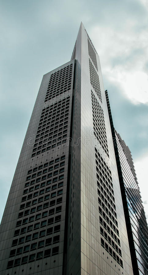 Gray Concrete Building Under White and Blue Cloudy Sky during Daytime stock photos