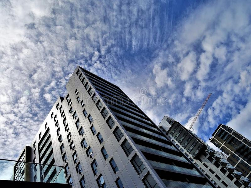 Gray Concrete Buildings at Daytime royalty free stock image