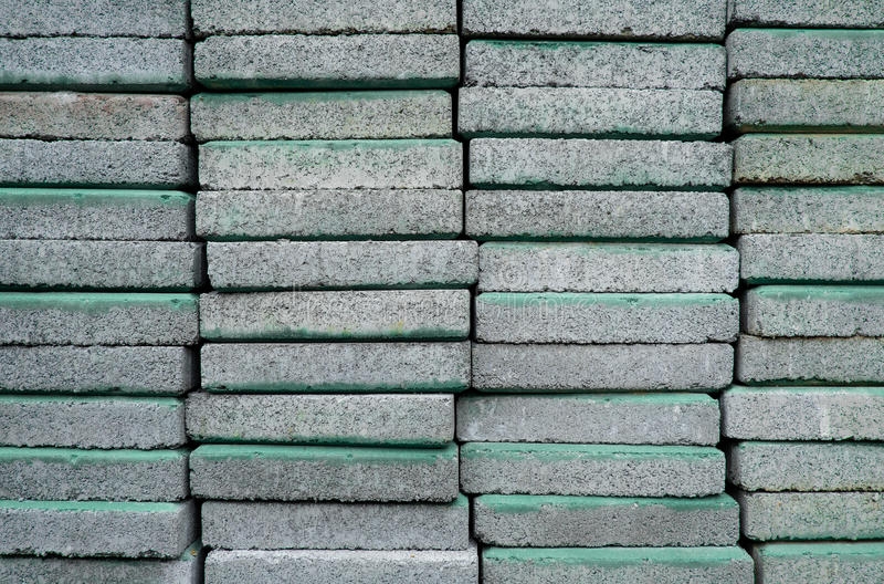Gray concrete at. A construction store stock image