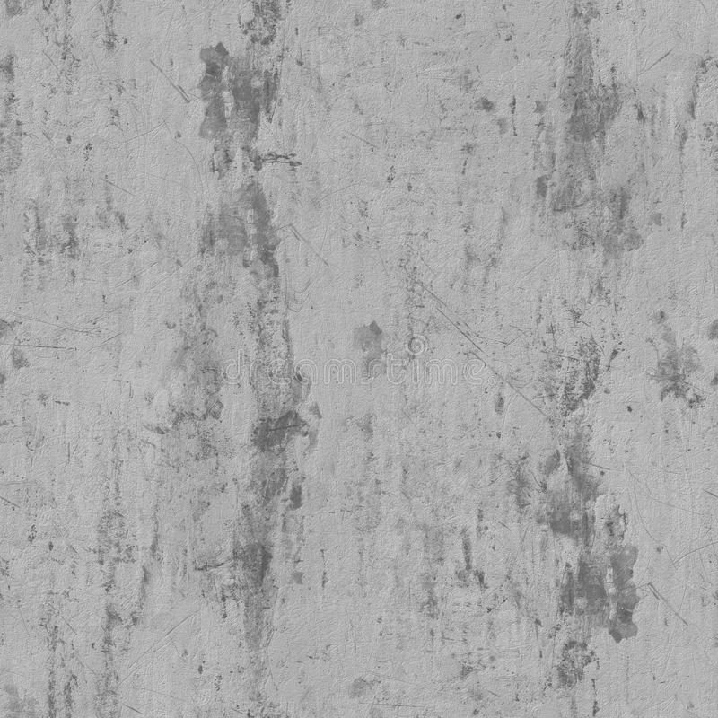 Gray concrete seamless texture royalty free stock photography
