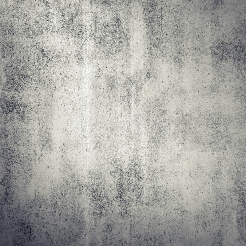 Gray concrete wall, square background texture. Gray grungy concrete wall, square background texture royalty free stock image
