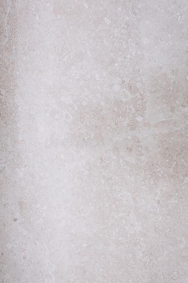 Gray concrete warm shade background texture pure stucco fine-grained cement. Wall clear and smooth white polished with pores grunge interior indoor stock image