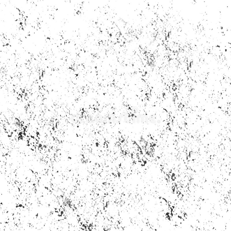 Gray Cracks Pattern. Monochrome Watercolor Soft Blurred Ink Surface. stock illustration