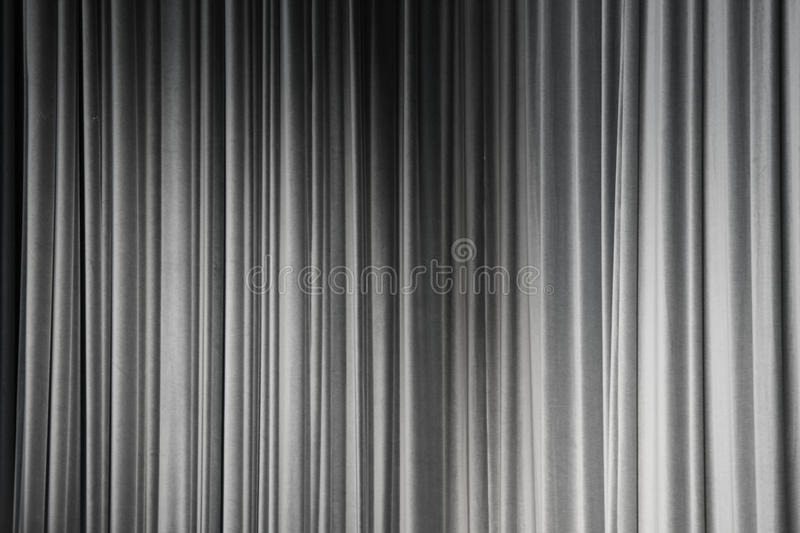Download Gray curtain stock image. Image of finish, white, concert - 22871431