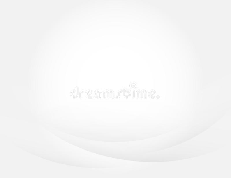 Gray curve concept abstract vector subtle background stock illustration