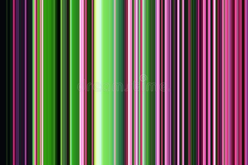Gray phosphorescent brown green violet dark blue lines. Colorful pattern , design stock illustration