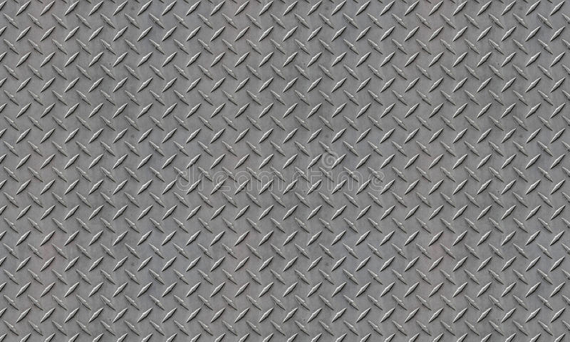Gray Diamond Plate royaltyfri fotografi