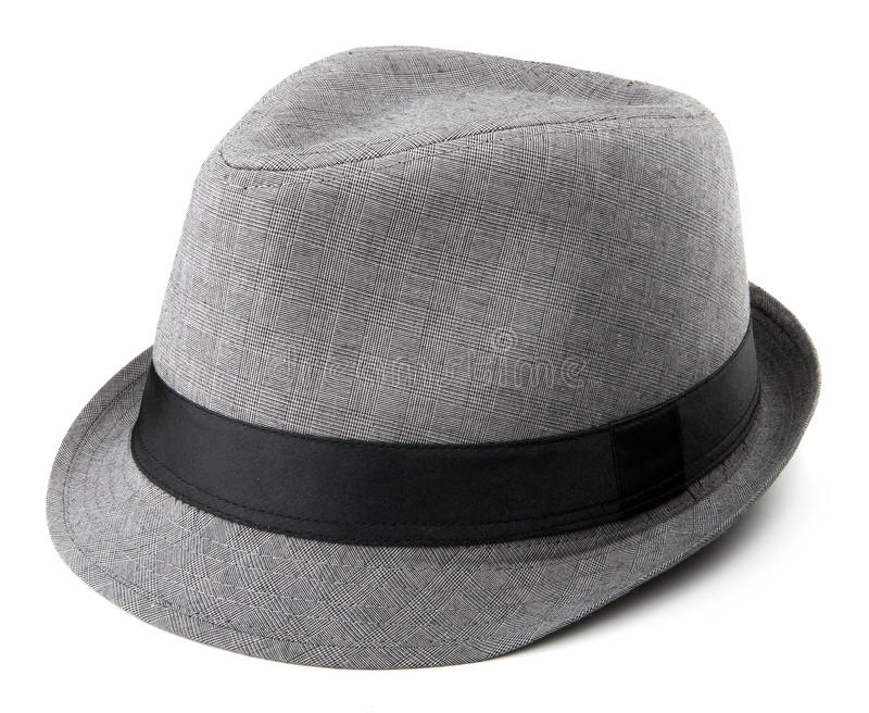 Gray Fedora stockfoto