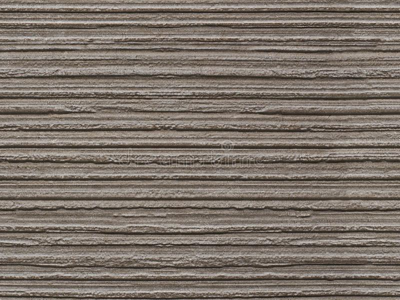 Gray flaky seamless stone texture background pattern. Stone seamless texture surface with horizontal lines layers. Stone linear. Seamless texture. Dark gray stock photo