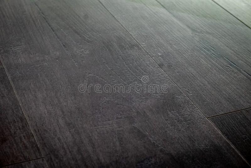 Gray floor parquet texture background stock image