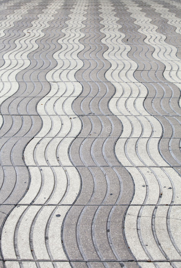 Download A Gray Floor Wavy To Infinity Stock Photo   Image Of Design,  Creative: