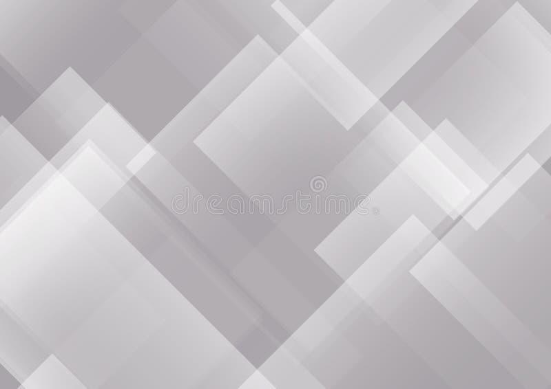 gray fractal abstrakcyjne tła obraz ilustracja wektor
