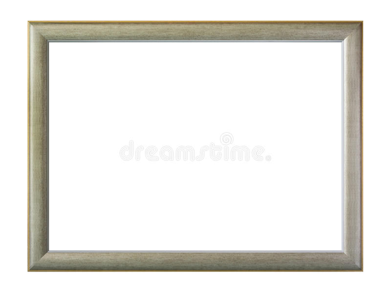 Download Gray frame isolated stock image. Image of borderline - 27032481