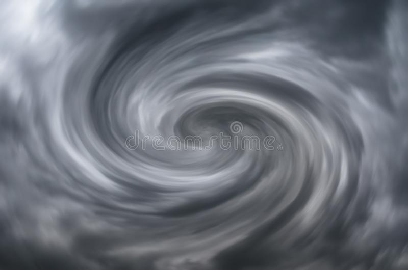 Gray funnel abstraction swirl counter clockwise. royalty free stock photos