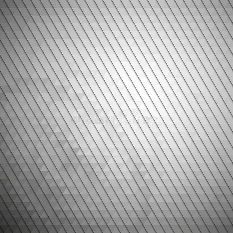 Gray geometric background, abstract triangle vector illustration
