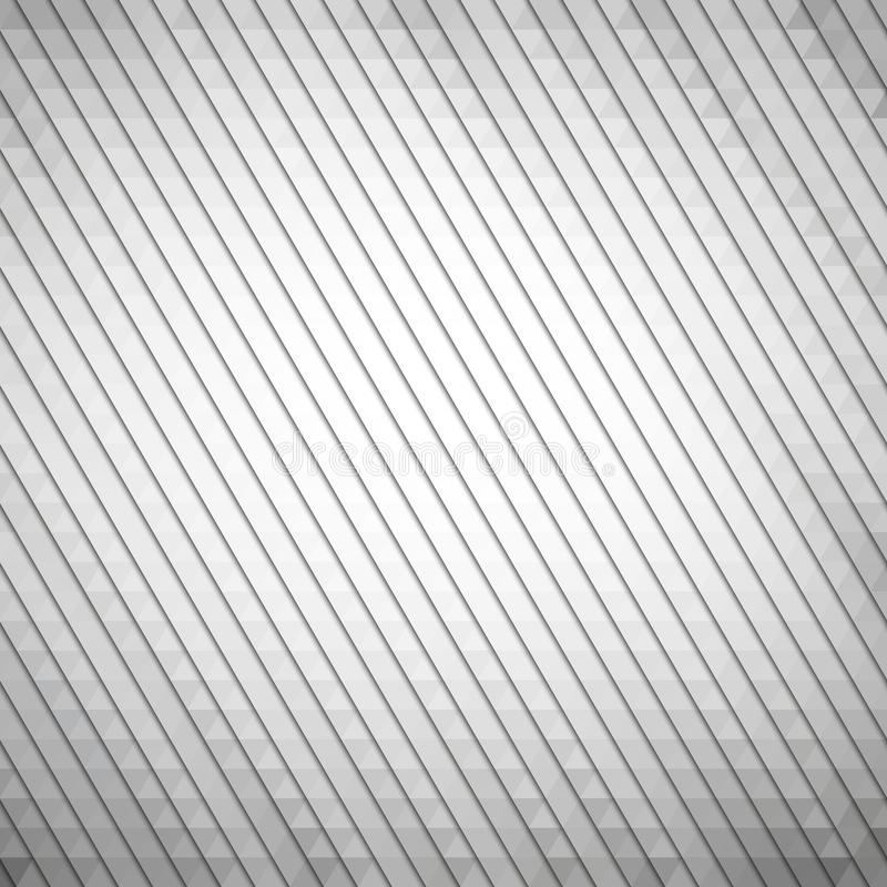 Gray geometric background, abstract triangle stock illustration