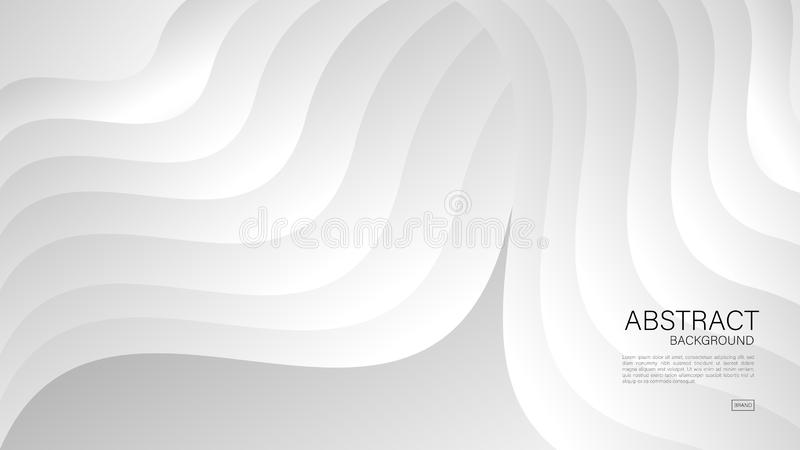 Gray abstract background, Geometric vector, graphic, Minimal Texture, cover design, flyer template, banner, web page, book cover. Advertisement stock illustration