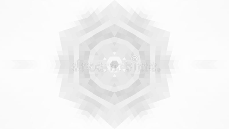 Gray geometric design, gray abstract background. Mosaic of a vector kaleidoscope, Pattern for busines ad, booklets, leaflets. vector illustration