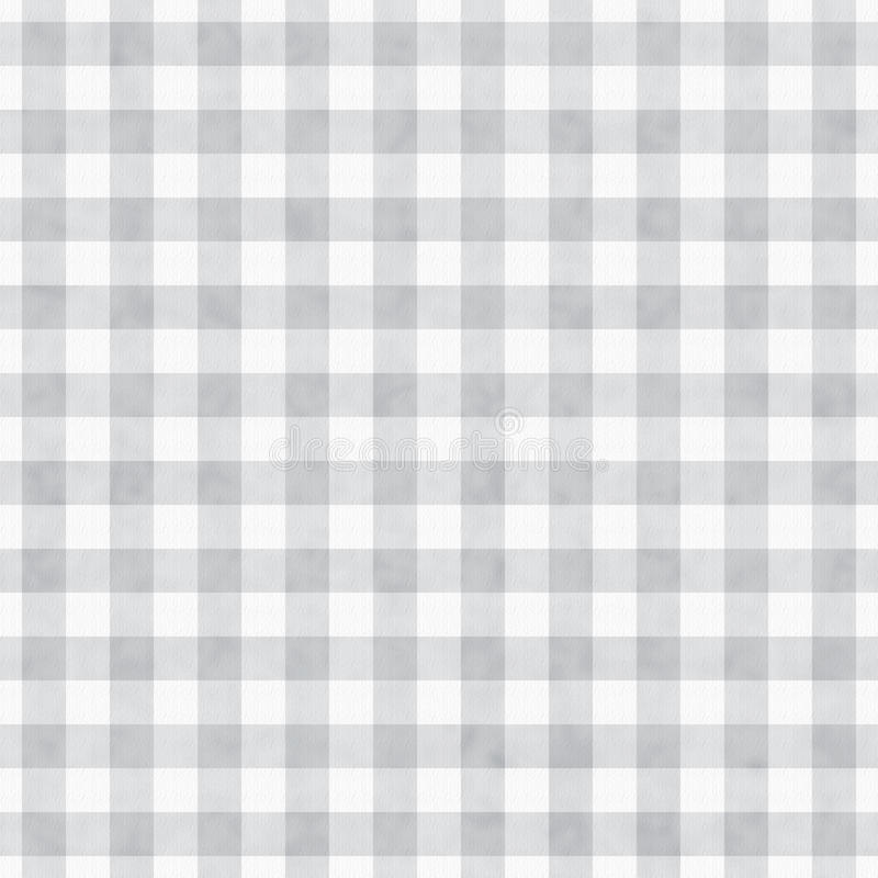 Gray Gingham Fabric Background lizenzfreies stockbild