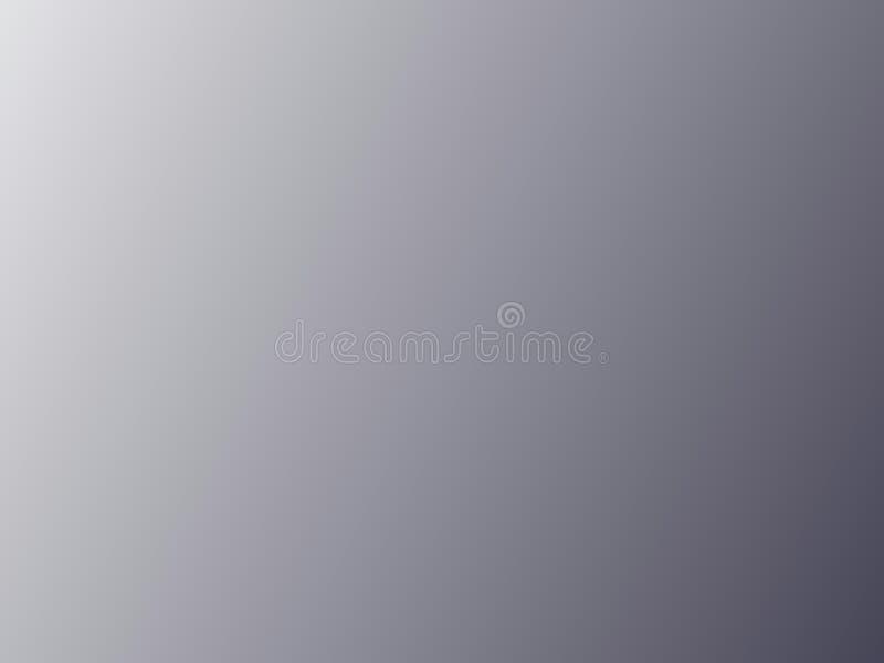 Gray Gradient Background argenté illustration libre de droits