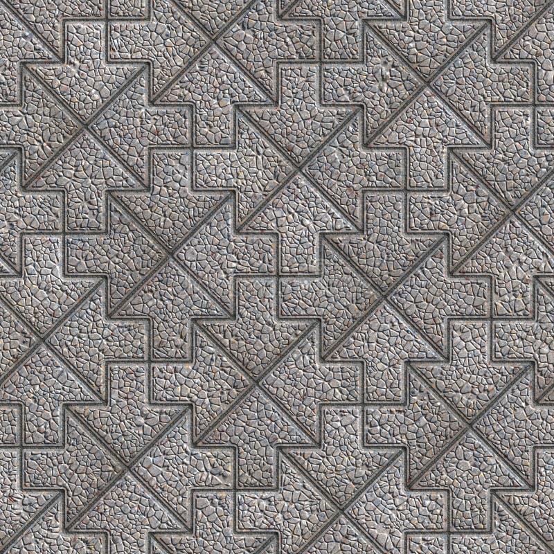 Download Gray Granular Mosaic Paving Slabs Foto de archivo - Imagen de pavimento, calculado: 44856100