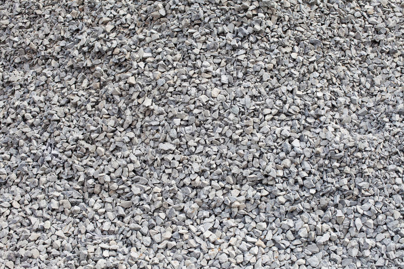 Gray gravel closeup. Textural background royalty free stock photo