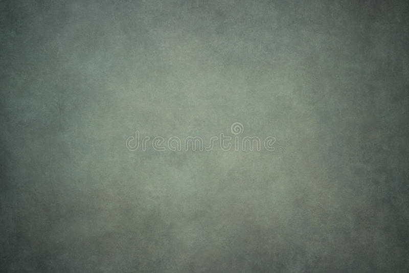 Gray green painted canvas or muslin backdrop. Gray green painted canvas or muslin fabric cloth studio backdrop stock image