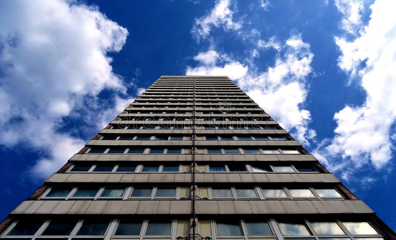 Gray High-rise Building royalty free stock photos