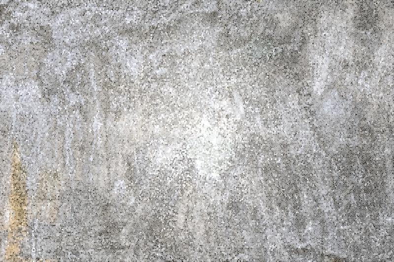 Gray honeycomb pattern background. Cement wall background royalty free stock images