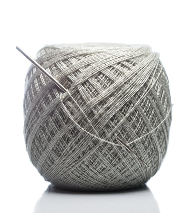 Gray Knitting Roll foto de stock