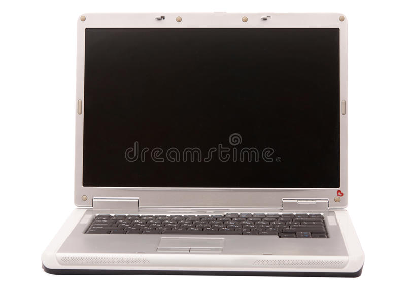 Download Gray laptop stock photo. Image of silver, side, global - 20251602