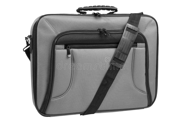 Modern laptop bag stock photography