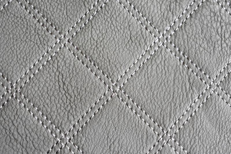 Gray Leather Texture Wallpaper imagem de stock royalty free