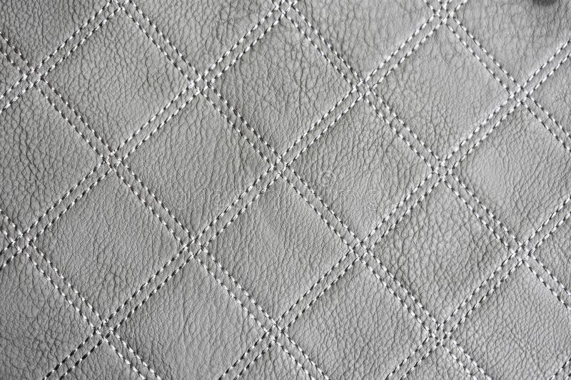 Gray Leather Texture Wallpaper fotos de archivo