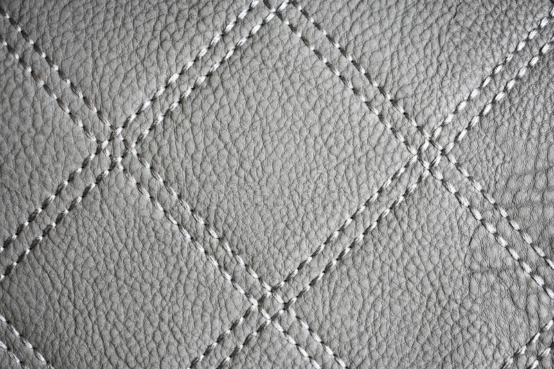 Gray Leather Texture Wallpaper imagem de stock