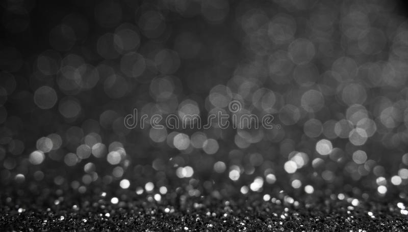 Gray lights and gray bokeh background for Valentine`s day, event and party concept stock photo